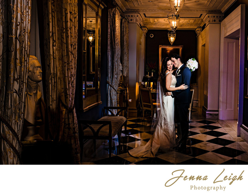 The Jefferson Hotel Wedding Photographer