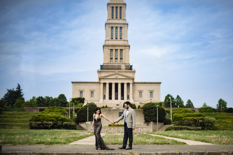 George Washington Masonic National Memorial Couple