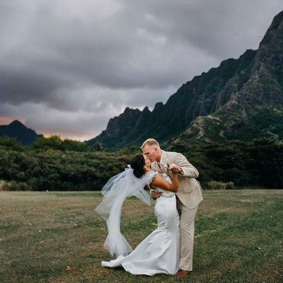 Kualoa Ranch Hawaii Wedding