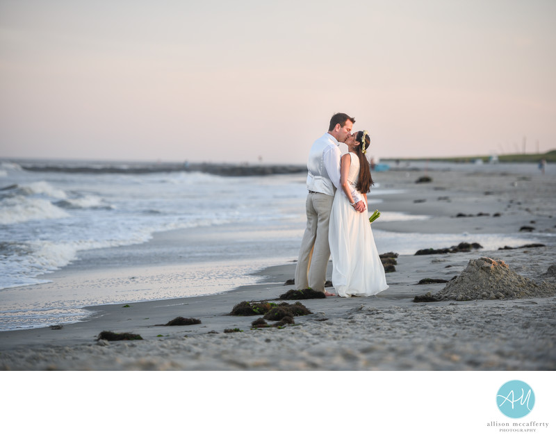 Ocean City NJ Beach wedding photos