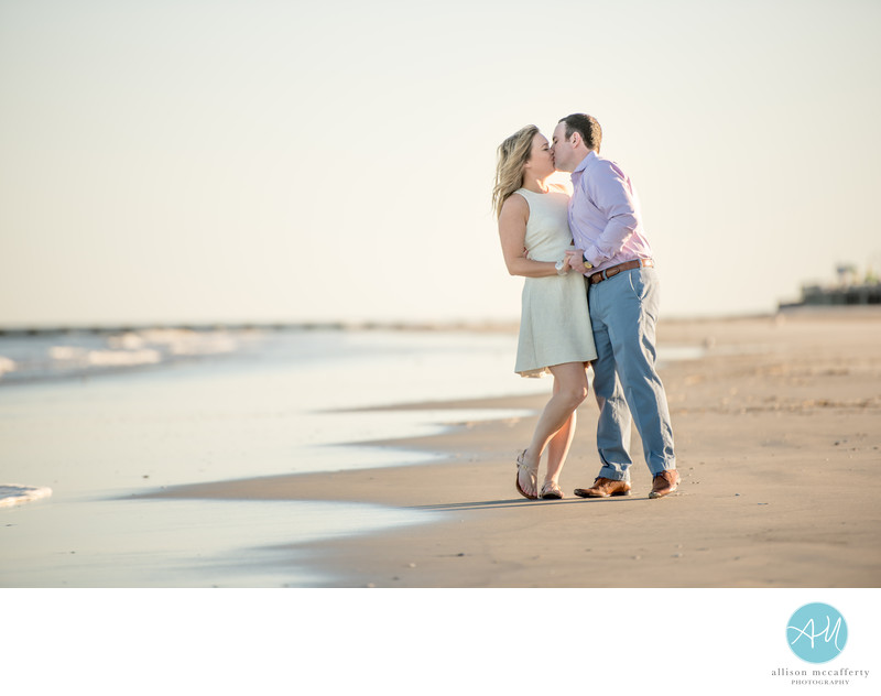 Wildwood Beach Engagement Photos
