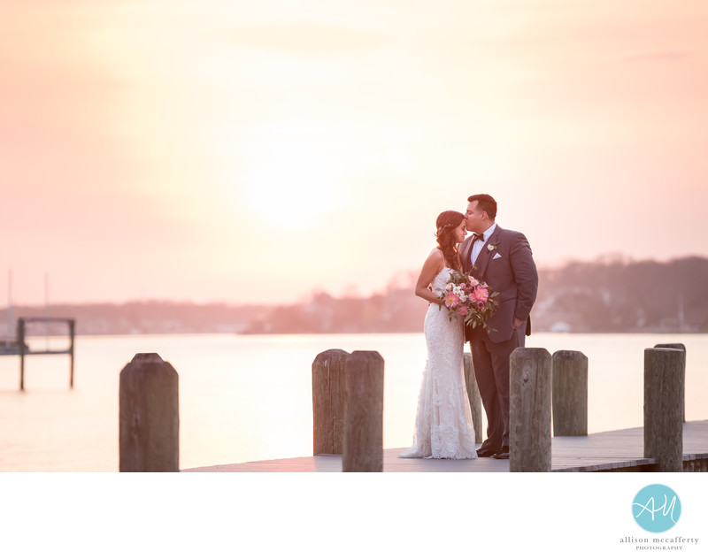 Clarks Landing Yacht Club Point Pleasant Wedding Photos