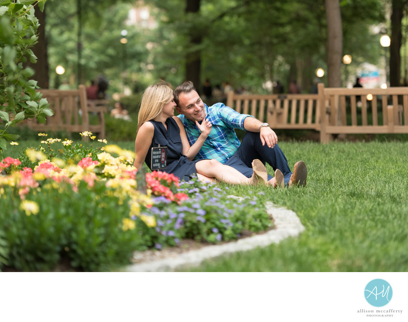 Best Engagement photographers in Rittenhouse Square
