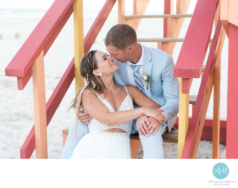 ICONA Diamond Beach Wedding Photographer