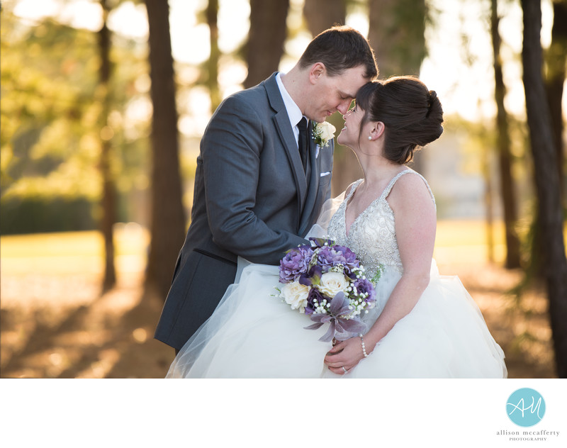 Blue Heron Pines Golf Club Wedding Photo