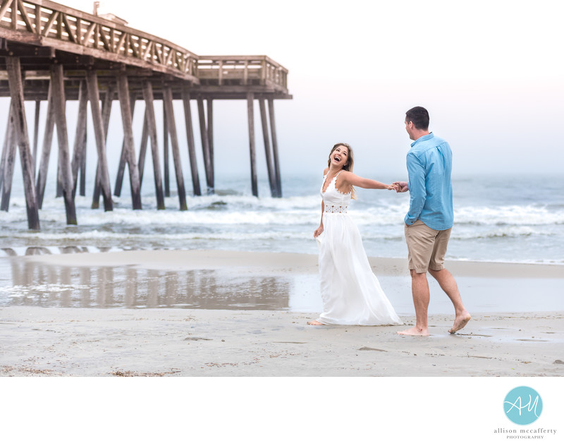 Best Ocean City NJ Engagement Photographer