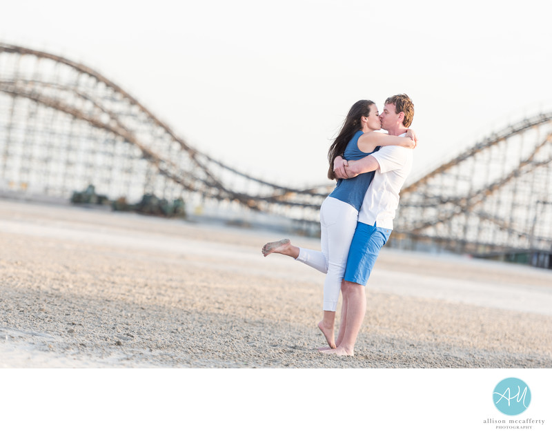 Wildwood NJ Engagement Photo