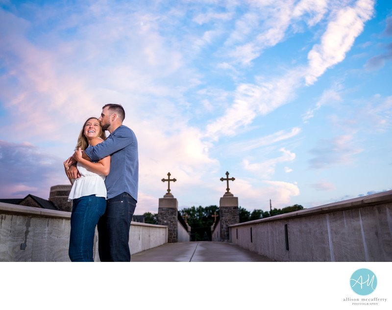 Villanova Engagement Pictures