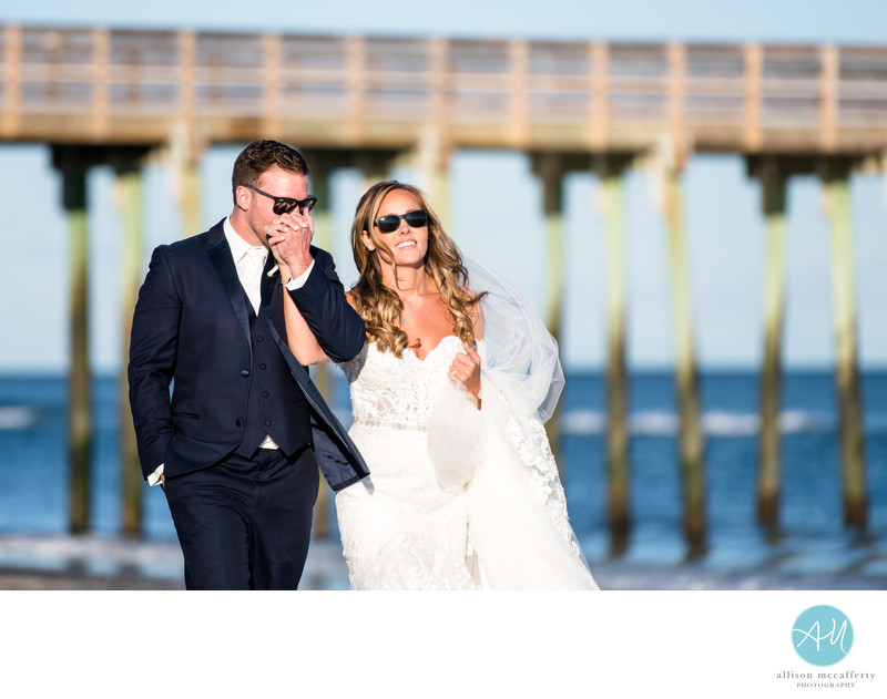Avalon NJ Beach Wedding Photographers