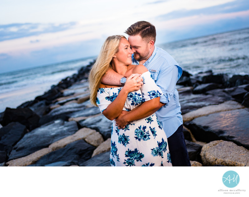 Brigantine Jetty Engagement Photos