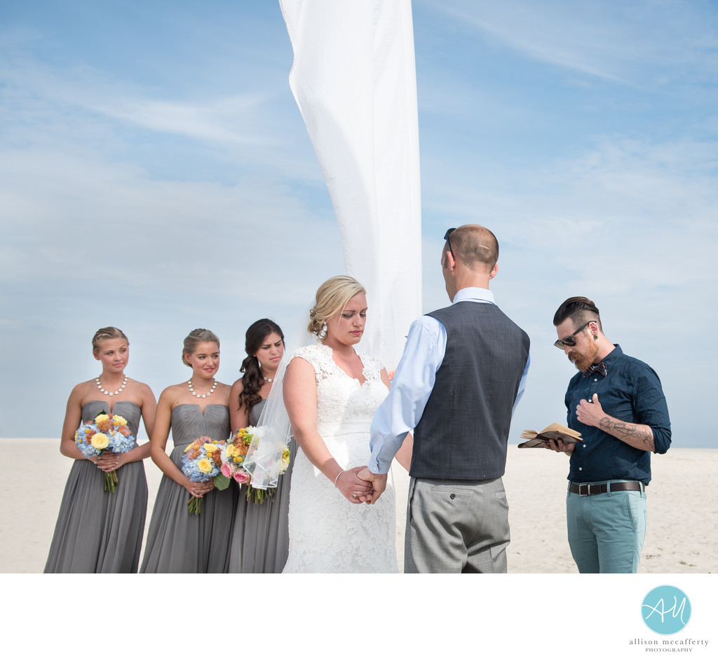 Cape May Beach Wedding Photographer