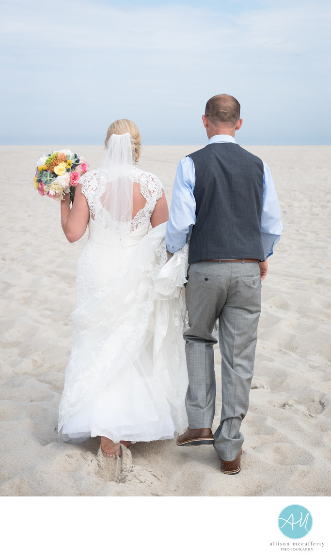 Beach Wedding Photographer In Cape May