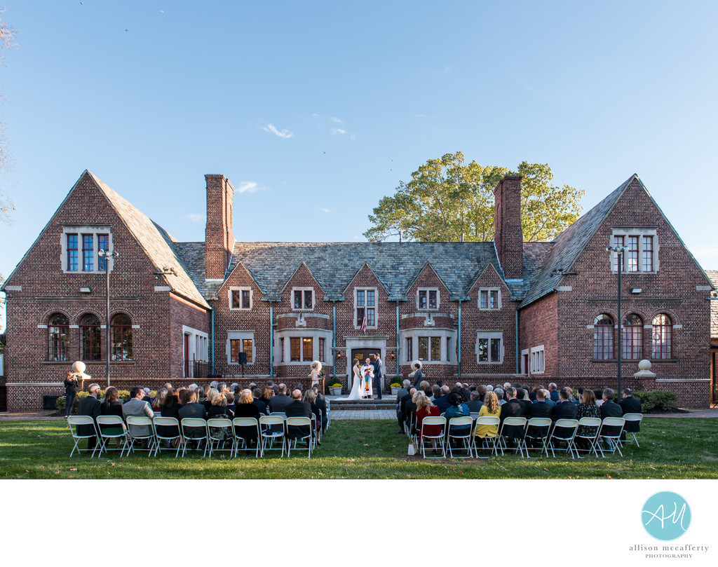 Moorestown Community House Wedding Photos