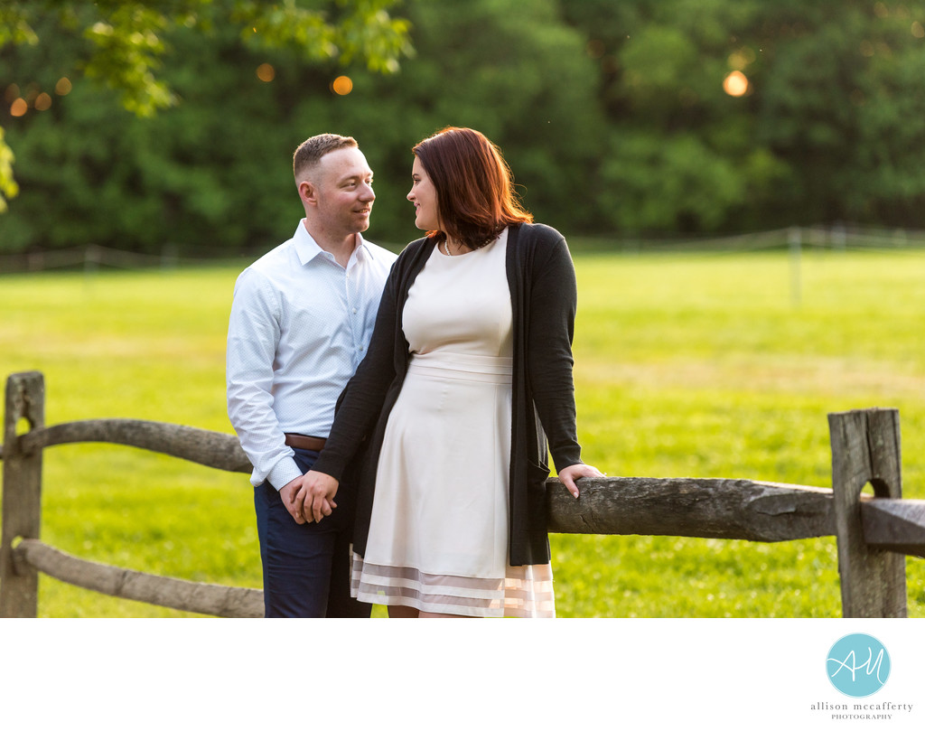 Smithville Mansion Engagement Session Photos