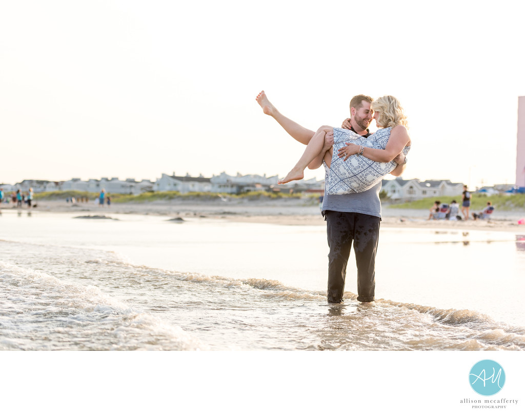 Ocean City NJ Engagement Session Photography