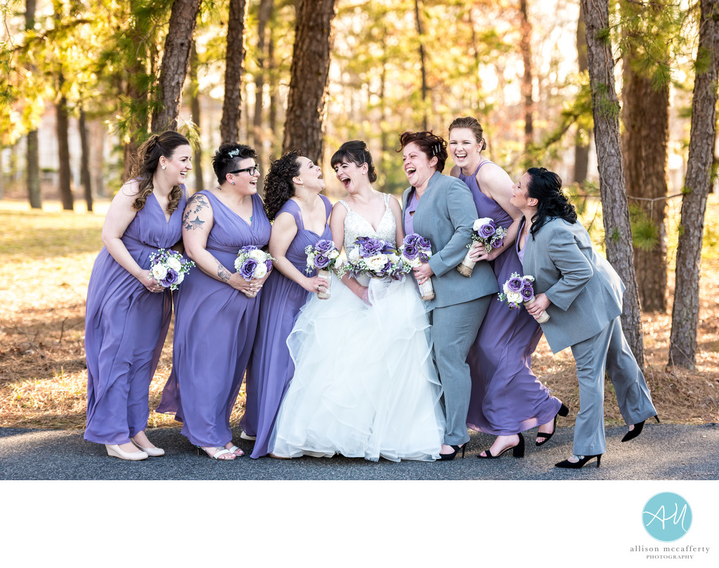 Blue Heron Pines Wedding Pictures