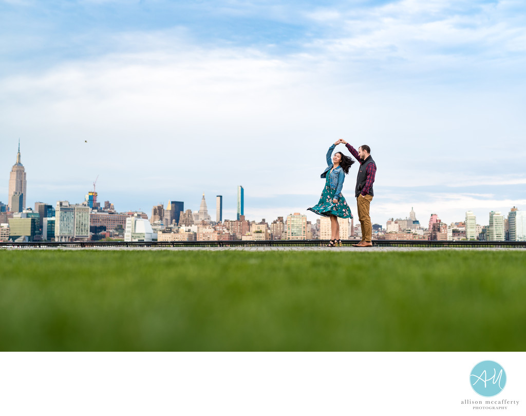 Engagement Photos in Hoboken NJ