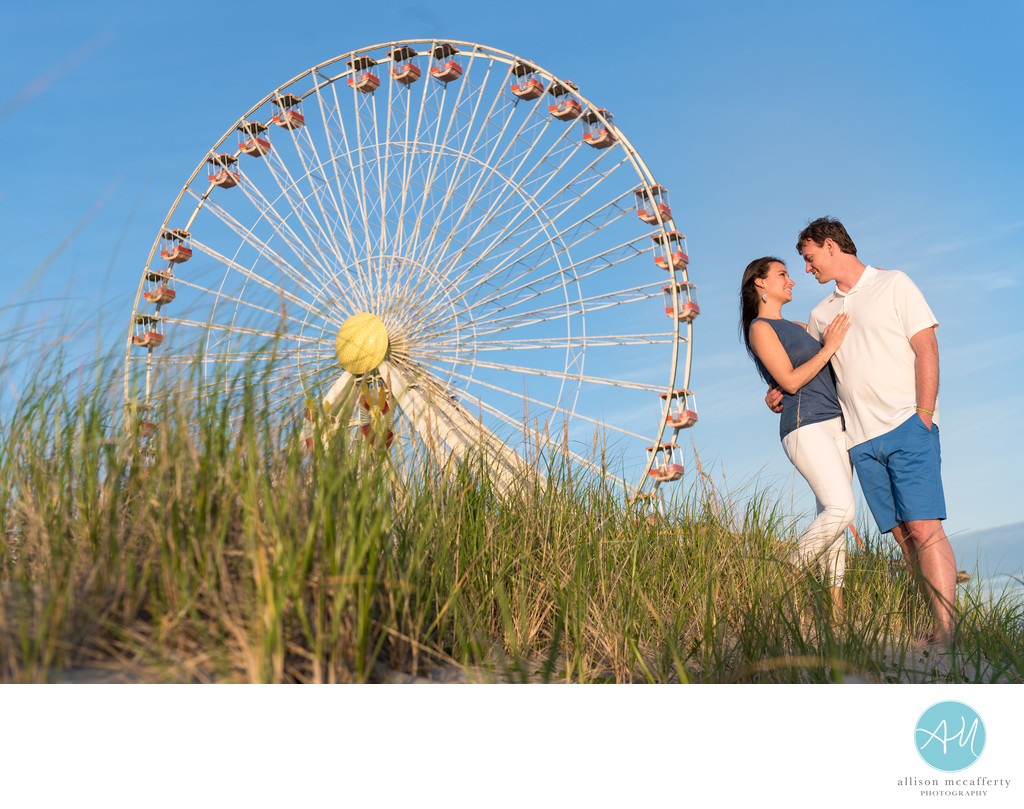 Wildwood NJ Engagement Photography