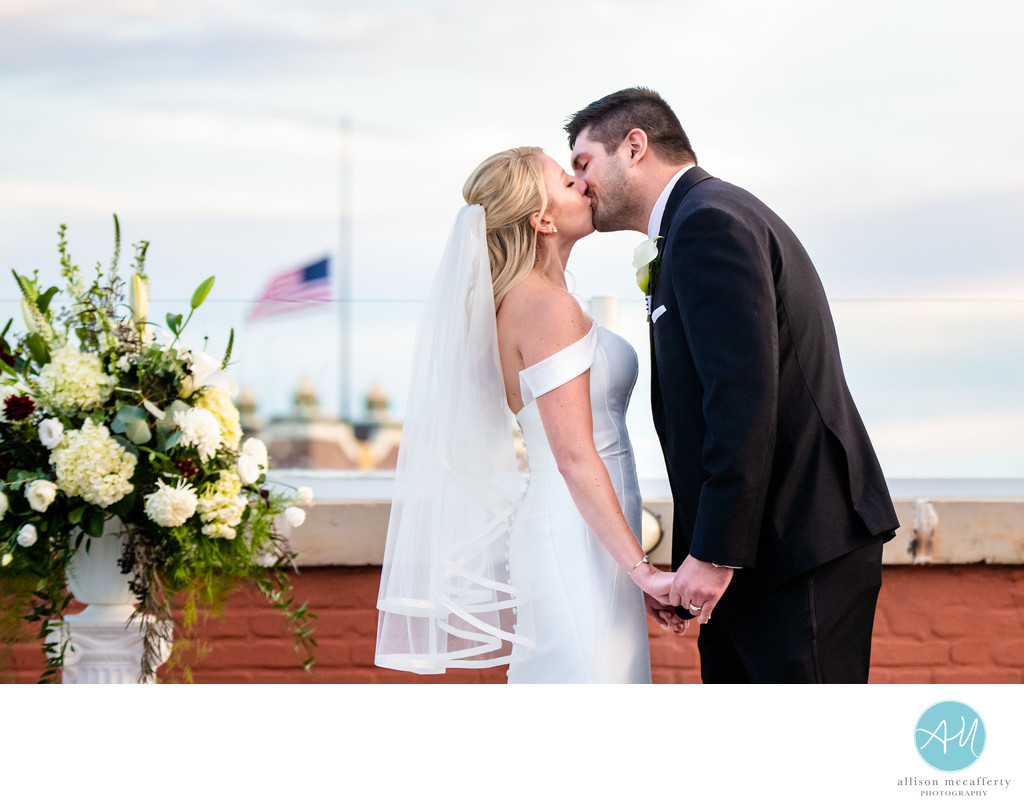 Rooftop Wedding at Berkeley Hotel Asbury Park