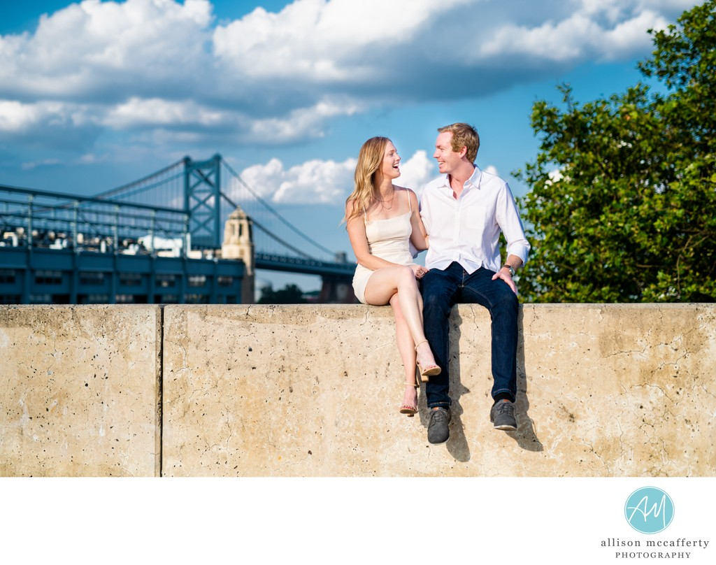 Philly Engagement Photo Location