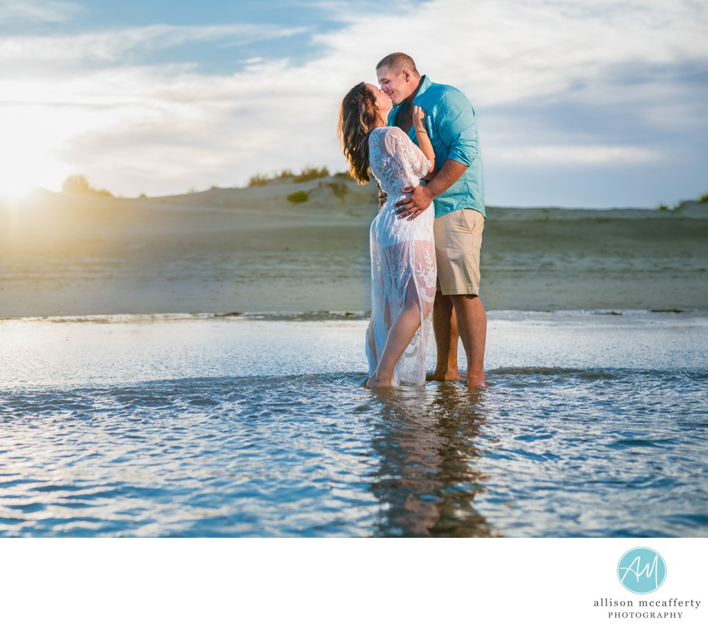 Hobie Beach Engagement Photos