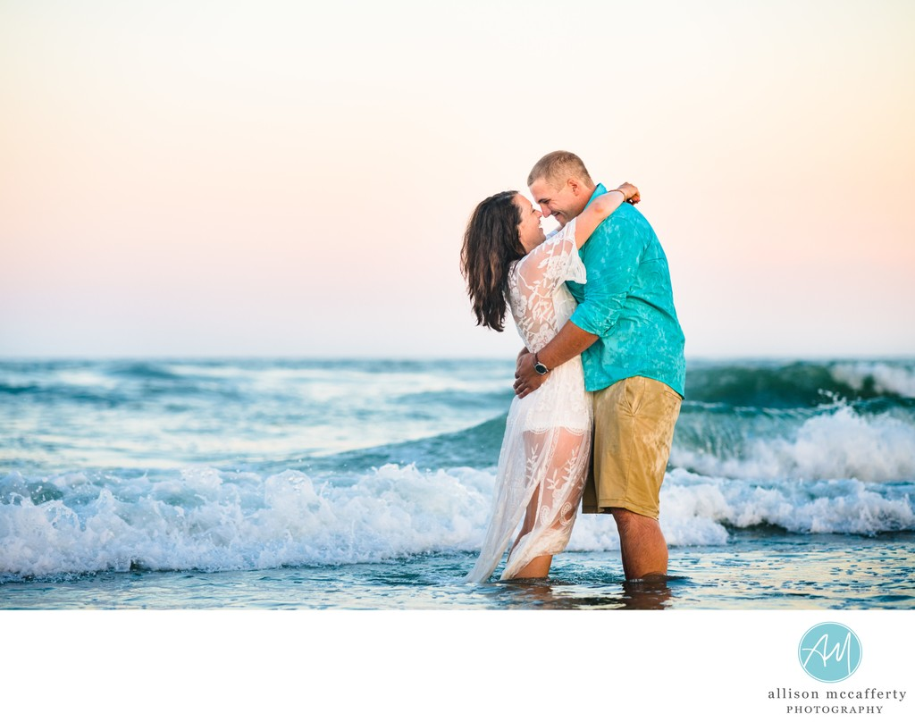 Stone Harbor Engagement Photos