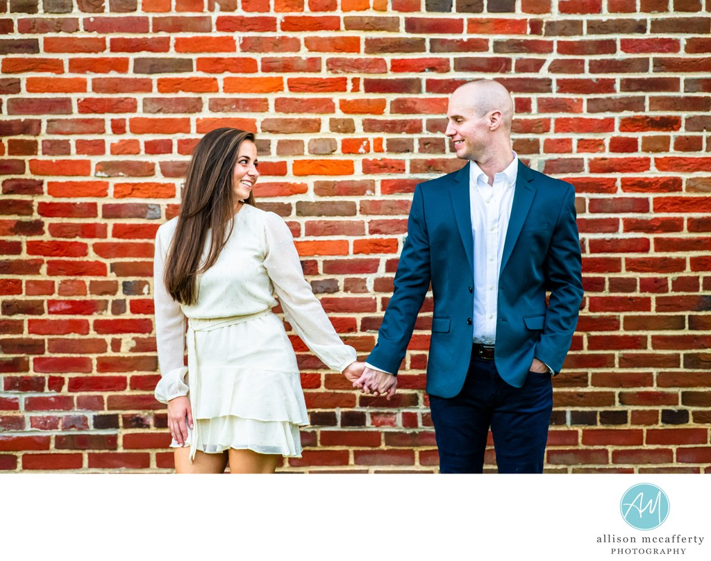 Smithville Mansion Engagement Photographer