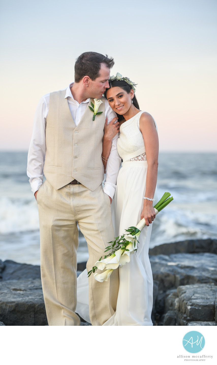 Jersey Shore Beach Wedding Photos