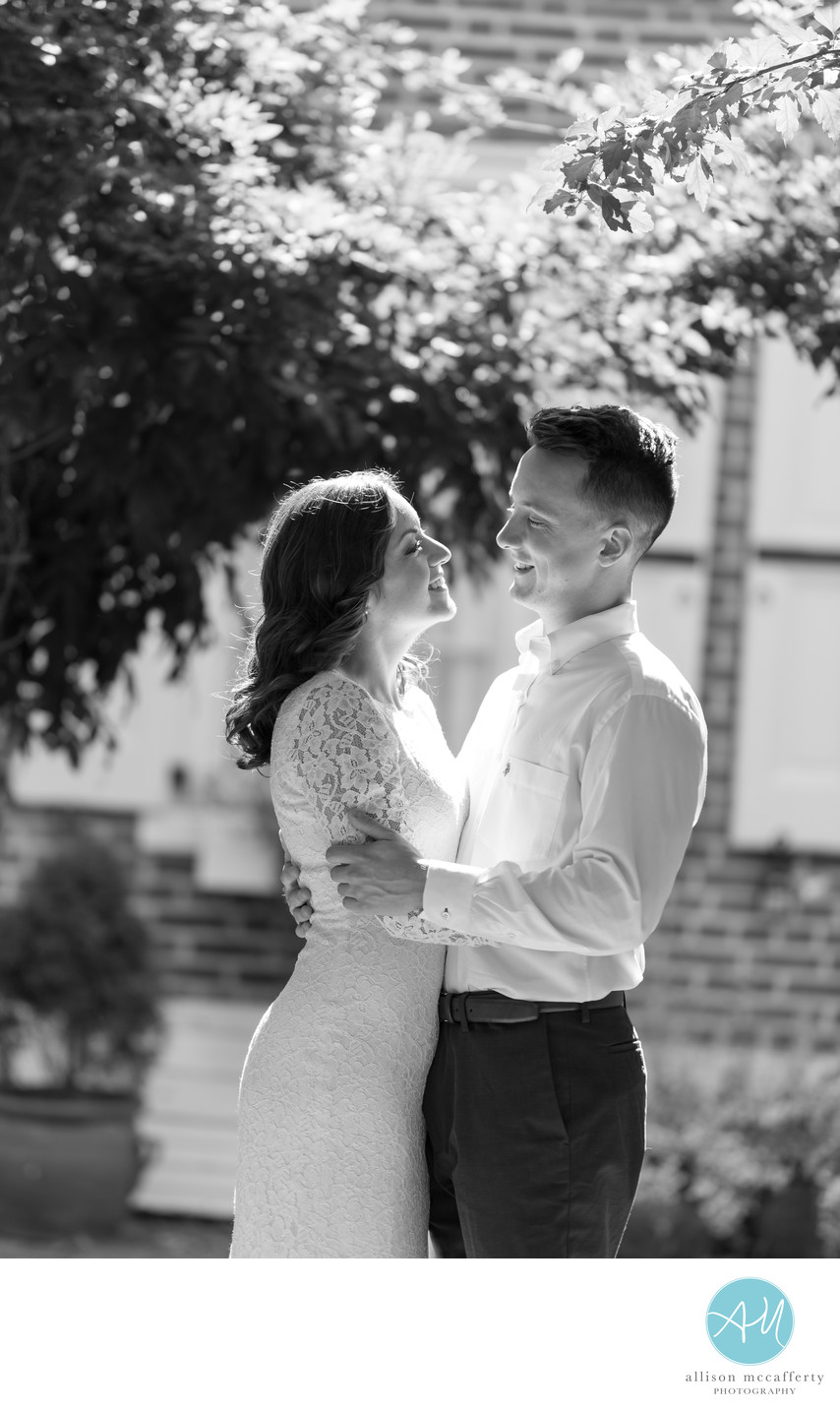 Elfreth's Alley Engagement Pictures