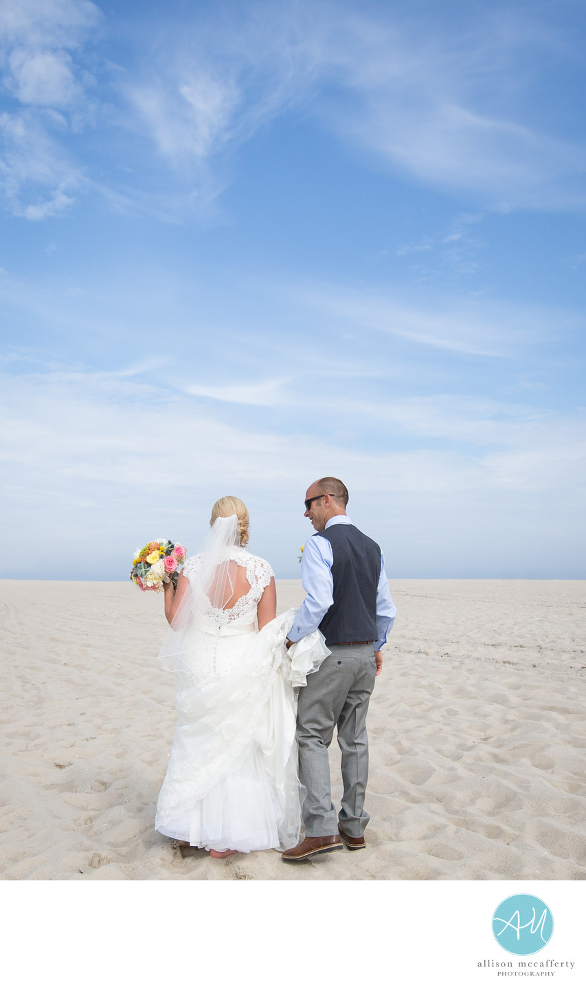 Beach Wedding Photographer Jersey Shore