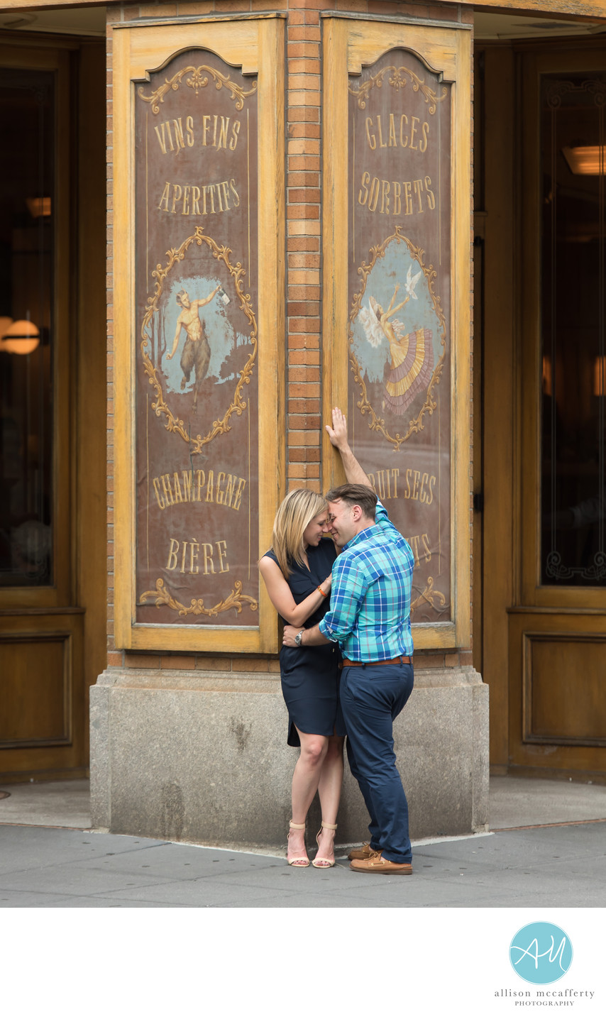 Engagement Photographers in Rittenhouse Square