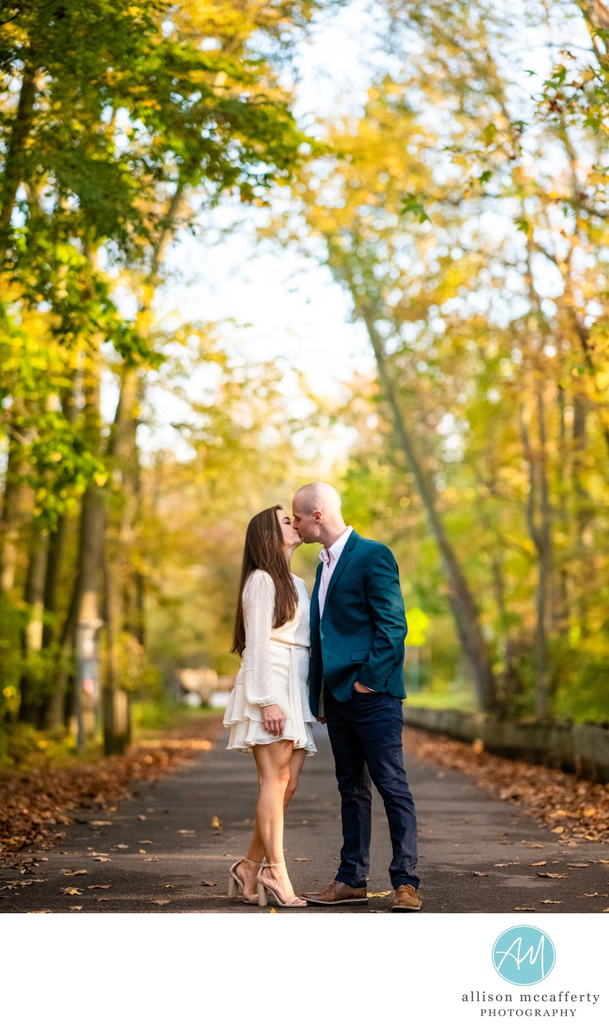 Smithville Mansion Engagement Photography