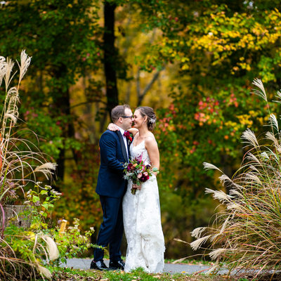 Fall Wedding Photos in New Jersey