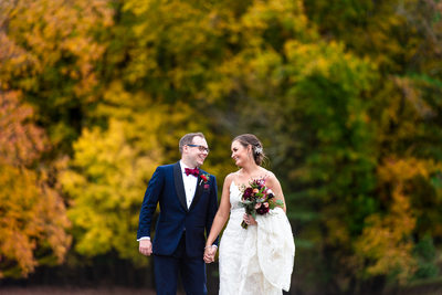 Fall Wedding Photos in South Jersey