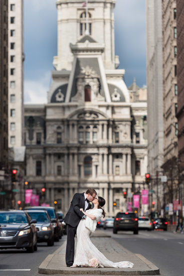 Broad Street Philadelphia Wedding Photos
