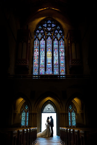 Bryn Athyn Cathedral Wedding Picture