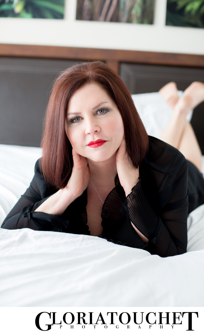 Boudoir Sexy Age Empowered Women Feel Beautiful Clayton