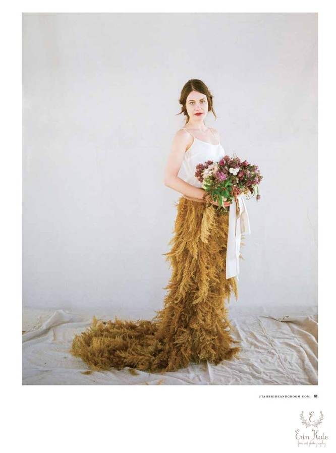 Unconventional Bridal Gown
