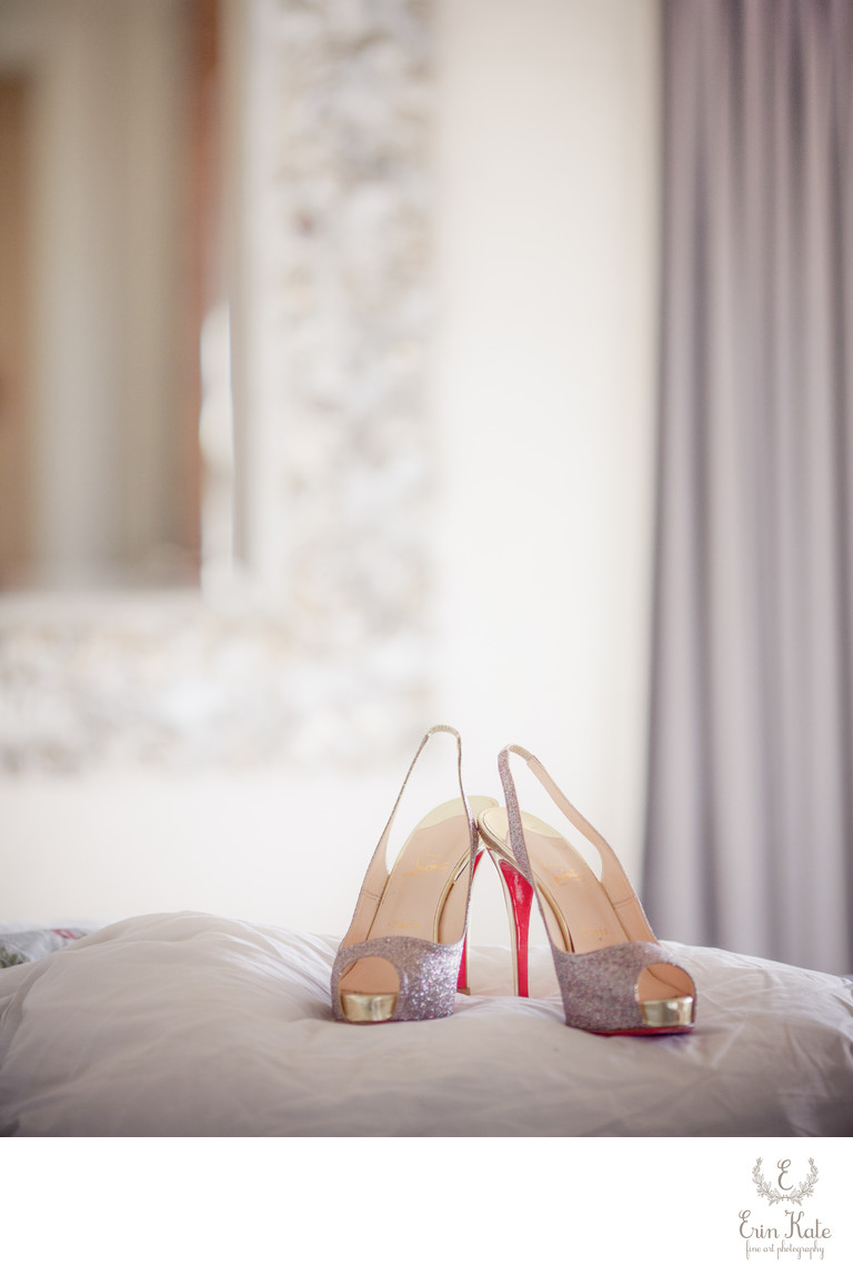 reputable site f415b 7590a Christian Louboutin wedding shoes - Park City Wedding ...