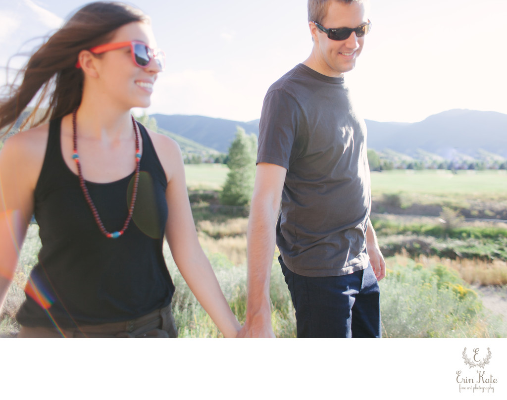 Summer Engagement in Park City