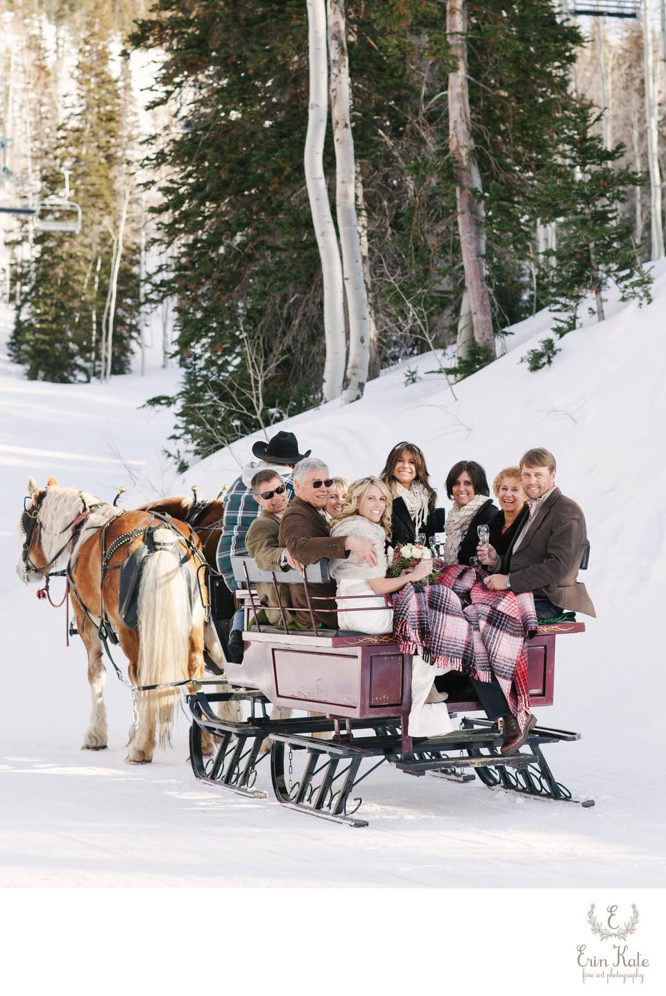 Deer Valley Winter Wedding Photography - Park City Wedding ...