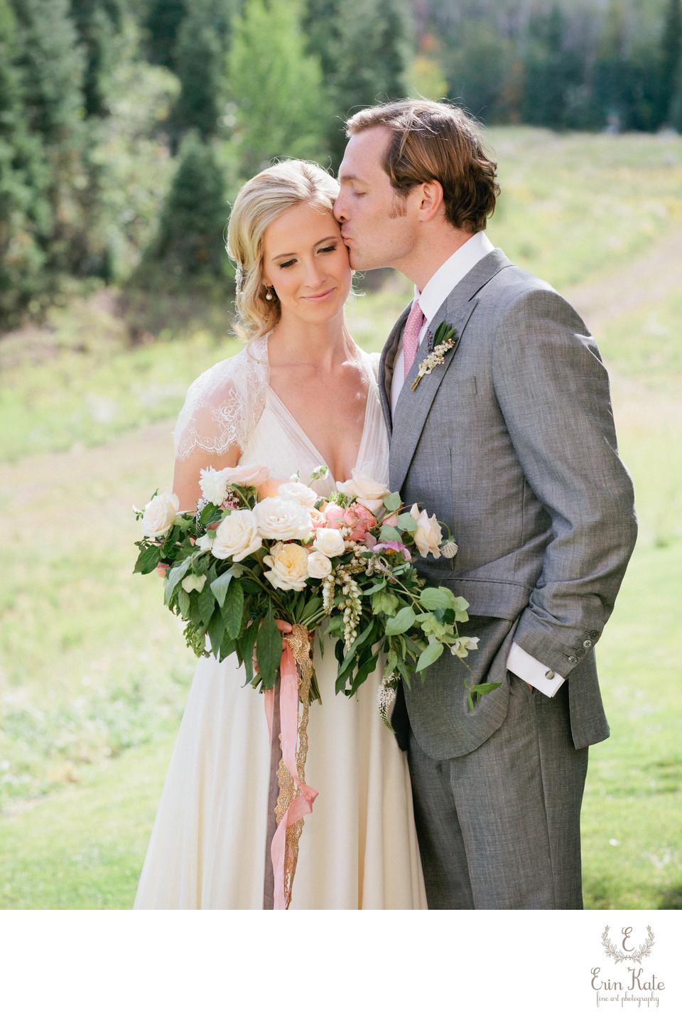 elegant St. Regis Deer Valley bride and groom