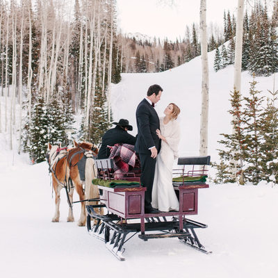 Winter in Park City Martha Stewart Weddings Magazine