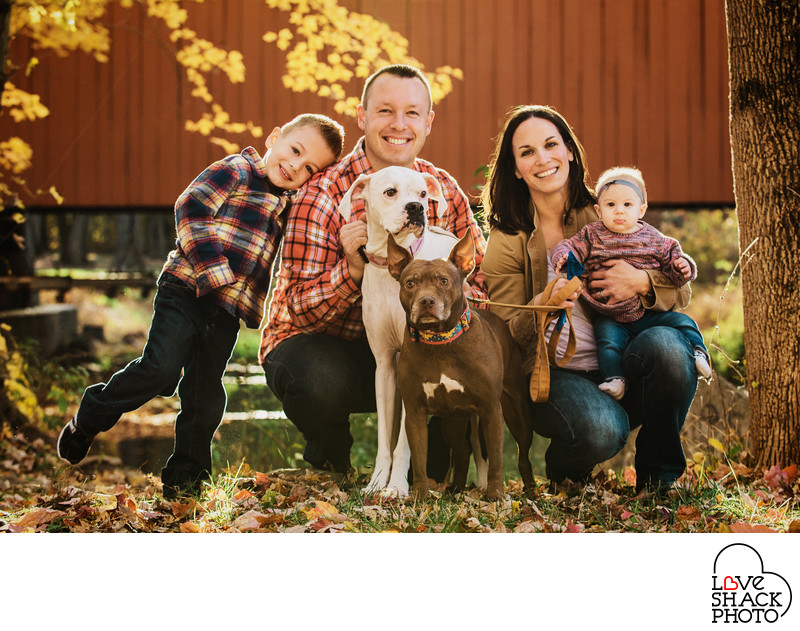 Best Fall Family Photography in Philadelphia