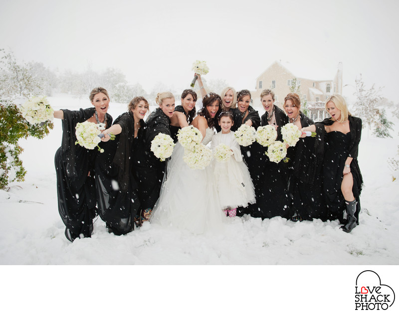 Winter Wedding Photography in Pennsylvania