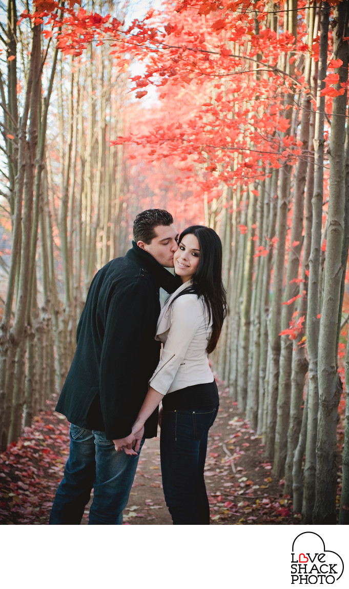 Fall Engagement Session near Philadelphia