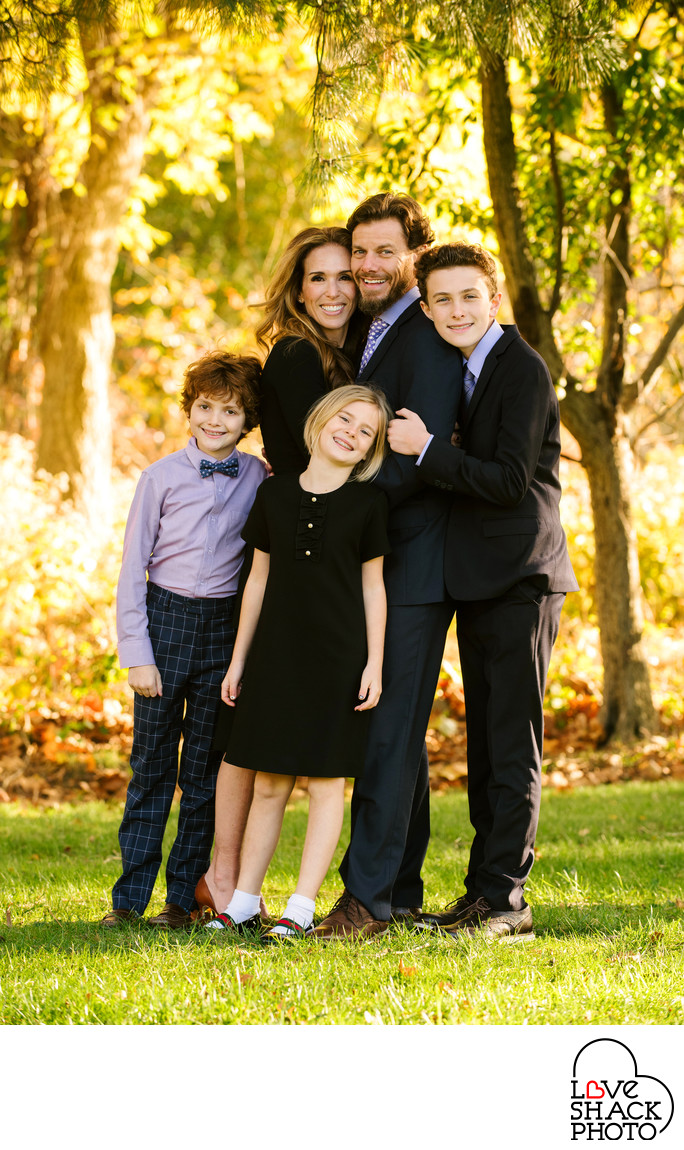 Bar Mitzvah Family Portraits at Beth Am