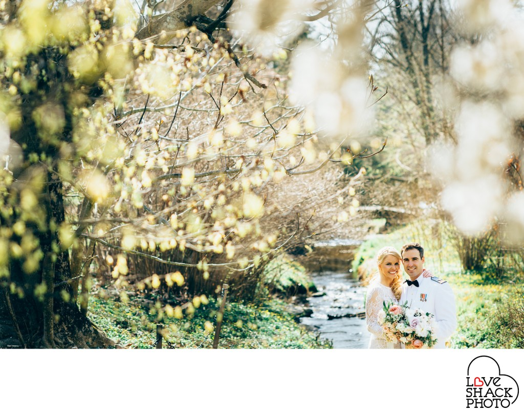 Spring Wedding at Morris Arboretum