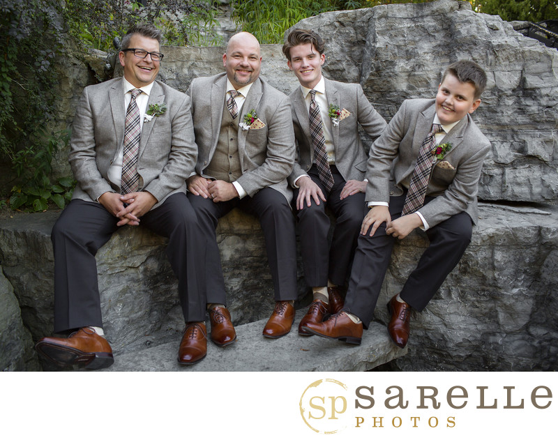 Cambridge Mill Groomsmen Photo