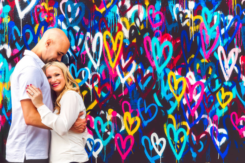 Graffiti Walls Engagement NYC